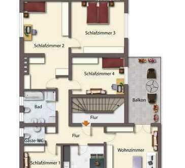 5-Zimmer Wohnung in Landau a.d. Isar