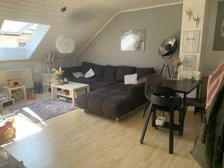 Schöne 3-Raum-DG-Wohnung mit Balkon in Gundelfingen/Peterswörth ab 01.09.