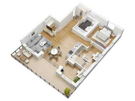 Haus Alchemie - 4- Zimmerwohnung mit großen Balkon zu verkaufen **Förderung durch KfW 40+ Standard**
