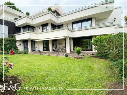 In bester, ruhiger Villenlage: Großzügige 5-Zimmer-Eigentumswohnung mit Terrasse und Gartenanteil