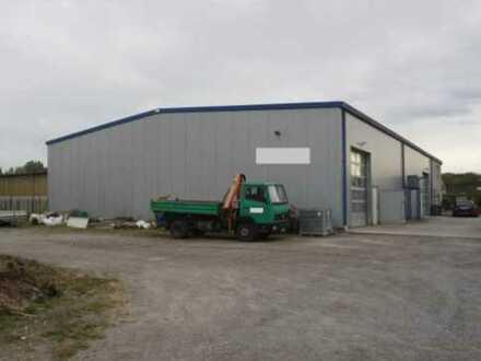 Im Alleinauftrag: Gewerbehalle, ca. 600 qm, mit Wohnung, Außenfläche in Beinheim/Elsass (Frankreich)