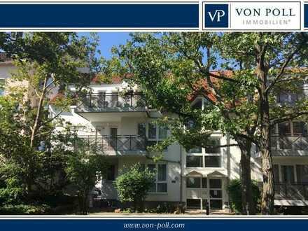 Attraktive 2 Zimmer-Wohnung mit Balkon und Atriumblick - TG-Duplex - Bestlage Bürgel