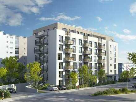 Kleine Penthouse-Wohnung im Neubau-Erstbezug! Terrasse in der Sonne !