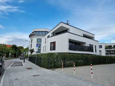 Stilvolle, neuwertige 3-Zimmer-Terrassenwohnung mit Balkon und EBK in Allach, München