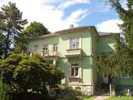 großzügige 5 Zimmer-Whg. in sanierter Villa mit Terrasse und Garten