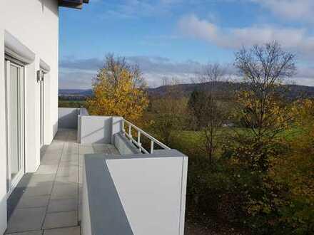 5-Zimmer Penthouse mit Blick bis Tübingen, Barrierefreie in Rottenburg-Kernstadt