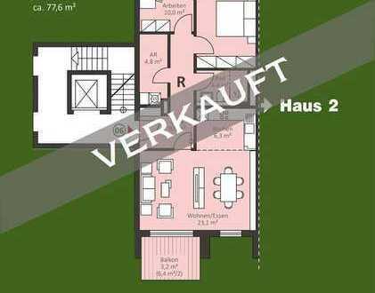 Urbane 3 Zi. Neubau ETW mit Balkon im 1. OG - auch für Kapitalanleger