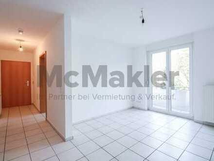 Wohnen mit Blick zum Turmberg - Renovierte 2-Zi.-ETW mit Balkon in Karlsruhe-Durlach