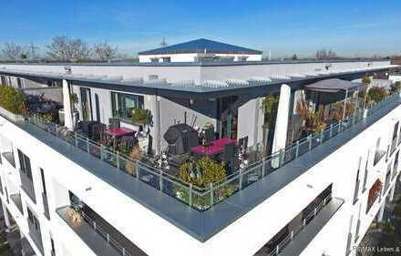 RE/MAX Karlsfeld Neuwertige und luxeriöse PENTHOUSE Wohnung mit riesiger Dachterrasse !