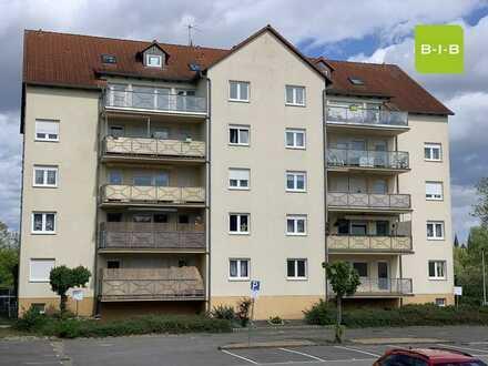 große 2 Zi. Wohnung (79 m²) mit Balkon, Gäste-WC, Fahrstuhl und PKW-Stellplatz