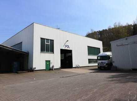 Lager- und Produktionshalle in Netphen (Industriegebiet)!