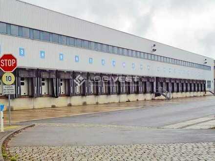 Gewerbehalle in der Nähe der der A1