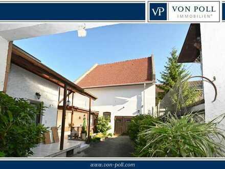 Gepflegtes EFH mit großer Scheune und kleinem Gartenanteil Mitten in Bechtheim!