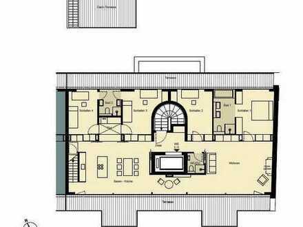 Penthouse mit Aufdachterrasse, Tiefgarage möglich / Lift / Klima / Kamin / Fußbodenheizung