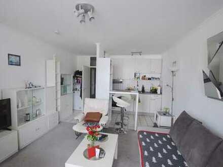 Möbliertes 1-Zimmer-Apartment mit Balkon in Frankfurt-Sachsenhausen - auch ideal als Kapitalanlage!