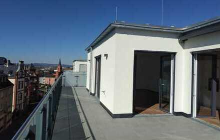 Erstbezug Penthousewohnung mit EBK und großer Süd-West-Terrasse über den Dächern von Limburg