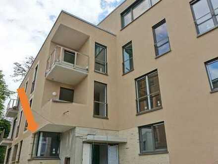 Erdgeschoss-Wohnung mit Loggia in perfekter City Lage