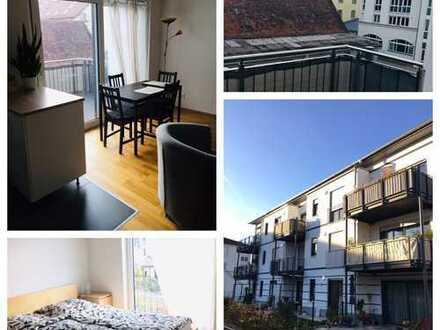 Helle 2-Zimmer Wohnung mit Südbalkon im Zentrum Bambergs
