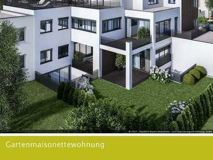 Exquisit wohnen in begehrter Lage - moderne Gartenmaisonettewohnung -