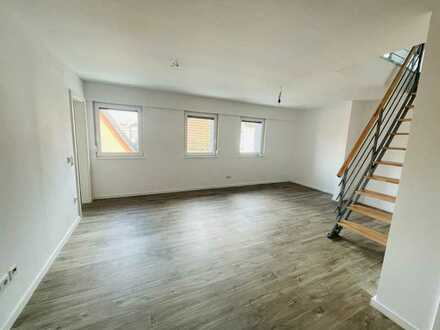 Schöne 3-Zimmer-Maisonette-Wohnung in Waghäusel Kirrlach mit Einbauküche saniert