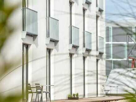 Modern möbliertes Studentenappartement mit Terrasse!