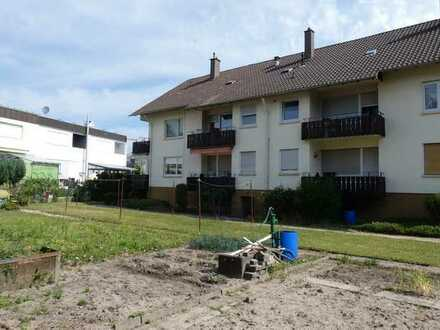 3-Zimmer-ETW mit Balkon und Gartenanteil in Gernsbach