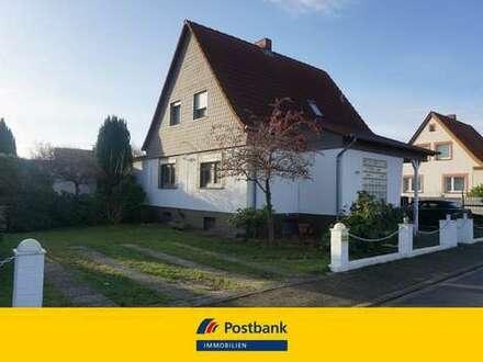 Idyllisch gelegenes EFH in Gifhorn OT Gamsen mit 2 Garagen, Schwimmbad und Sauna