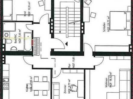 Attraktive, 2019 modernisierte 4-Zi-Wohnung in Altstadt Erfurt