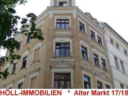 Höll-Immobilien vermietet attraktive 1-Raum Wohnung im Alter Markt 17 mit Balkon.