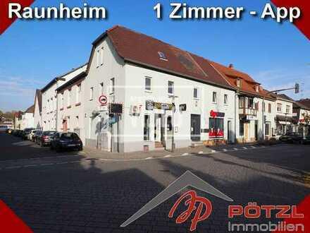 1-Zimmer App. mit Singleküche und eigenem Bad in Raunheim - S-Bahn Anbindung F, WI, MZ, DA,