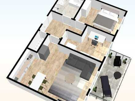 Whg. - 08 - im DG mit 80,61 m²