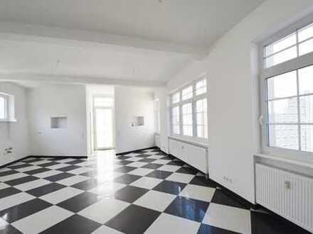 Loft-Living der besonderen Art mit XL-Terrasse und individuellem Wohnflair in bester Infrastruktur