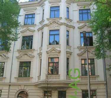 tolle Wohnung im beliebten Waldstraßenviertel in Planung *Balkon*Stuck*Parkett