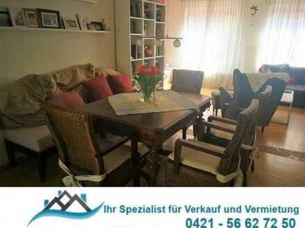 HB-Hastedt: 15 Minuten zur Weser! Große, helle 3-Zi.-Wohnung über 2 Etagen, u. riesiger Dachterrasse