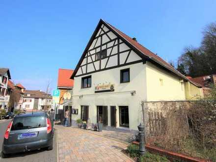 Schönes Gasthaus mit Biergarten, Scheune, Gewölbekeller und Wohnung