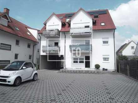 Gemütliche Zweiraumwohnung mit Stellplatz in Kuhardt