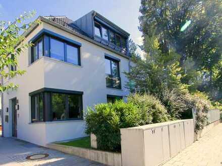Exklusives, stilvolles Einfamilienhaus mit Südterrasse in Bestlage Menterschwaige