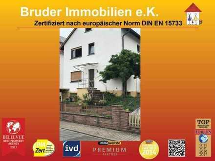 Walldorf: 3 ZKB mit Terrassennutzung in Hanglage, 200m zum Rathaus NUR EINZELPERSONEN!!!