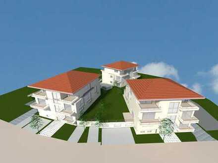 Baugrundstück mit Architektenplanung für Mehrfamilienhausanlage mit Tiefgarage