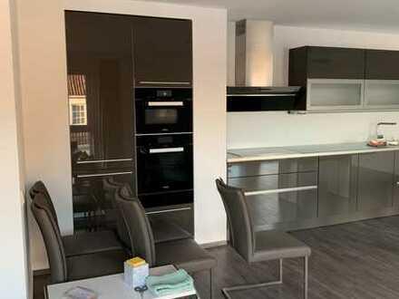 Moderne Wohnung mit Loft-Charakter und luxuriöser EBK in Gescher