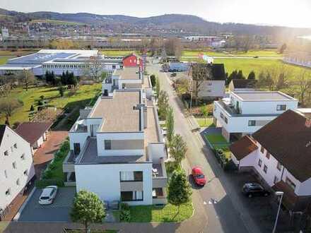 Hoher Wohnkomfort auf ca. 74 m²! 2-Zimmer-Neubauwohnung mit Ankleidezimmer und Balkon