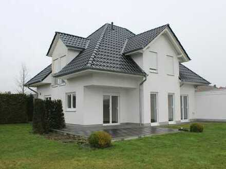 Modernes und junges Einfamilienhaus