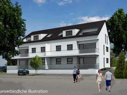 **NEUBAU: Mehrfamilienhaus in zentrumsnaher Lage von Heimsheim**
