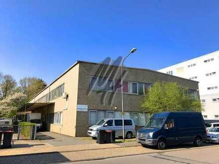 KEINE PROVISION ✓ NÄHE BAB ✓ Lagerflächen (200 m²) & Büroflächen (65 m²) zu vermieten