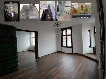 Preiswerte frisch sanierte 6 Zimmer Wohnung in verkehrsberuhigter, zentraler Lage