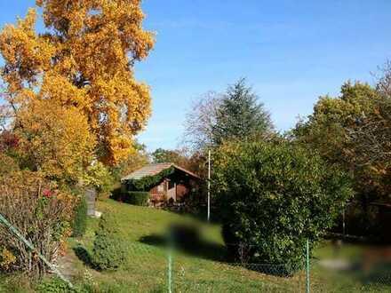Idyllisch gelegenes Garten.-/Freizeitgrundstück mit Holzhütte in 73527 GD-Kleindeinbach