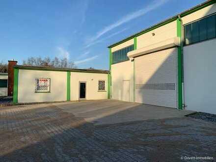 - 3 MONATE MIETFREI- Edel modernisierte Lagerhalle mit Heizung, Klimaanlage & perfektem Hallenboden
