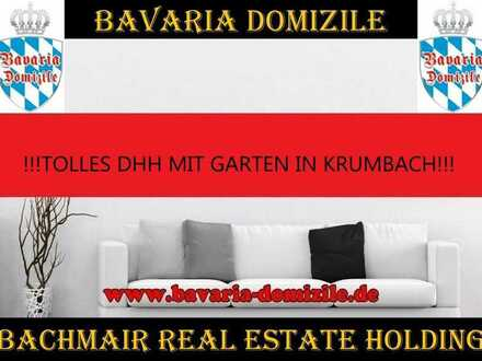 ***BAVARIA DOMIZILE: TOLLE DOPPELHAUSHÄLFTE IN KRUMBACH!!!******