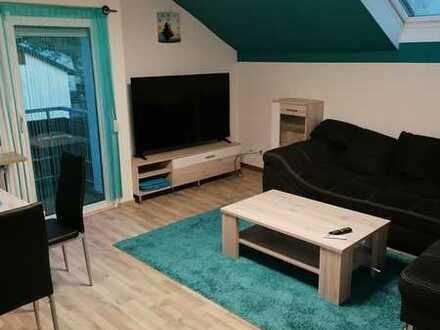 Vollständig möblierte und renovierte 2-Zimmer-Wohnung mit Balkon und EBK in Böblingen (Kreis)