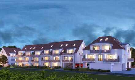 Fast wie ein Haus - 4 1/2-Zimmer-Neubau-Maisonettewohnung in Bobingen-Zentrum
